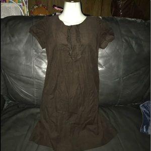 Ann Taylor Loft Corduroy Dress Sz 0